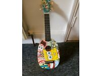Spongebob Sqaurepants Ukelele with case