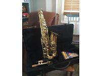 Saxophone. Hardly played. £150 ONO.