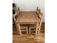 Standard Dining Table and Chairs