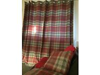 Next curtains and matching cushions