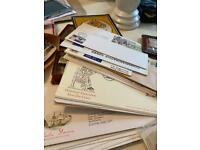 Large job lot of stamps