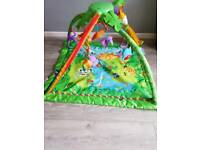 Fisher-Price rainforest music and lights baby gym play-mat.