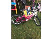 "Girls Raleigh mountain bike 20"" wheel age 8+"