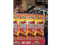 Red Tabasco Pepper sauce 12 bottles