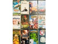 Sony PSP Games and films