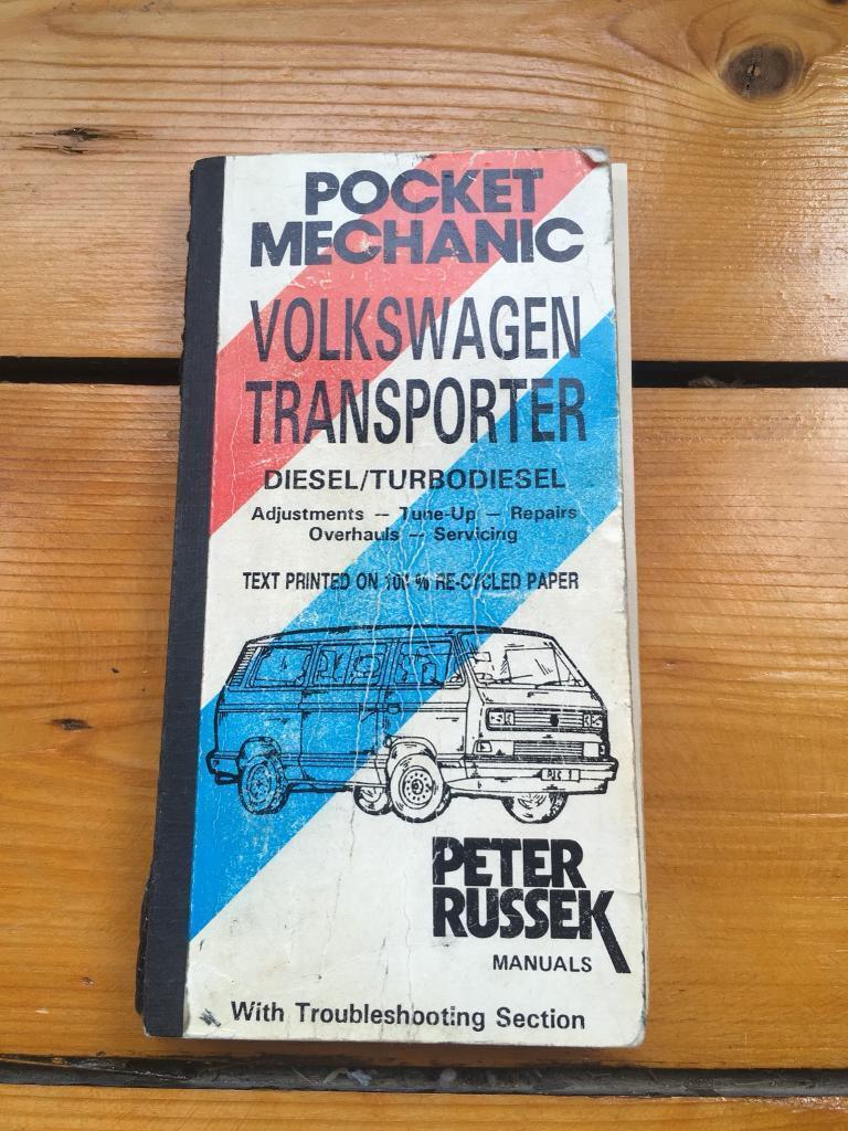 Volkswagen Transporter Pocket Mechanic Boob