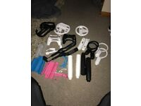 Loads of nintendo wii accessories