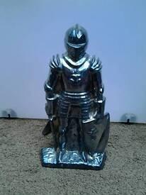Vintage knight fireside companion set
