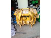 110 four way extension box
