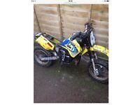Husky boy 50cc kids motocross mini dirt bike for spares or repairs