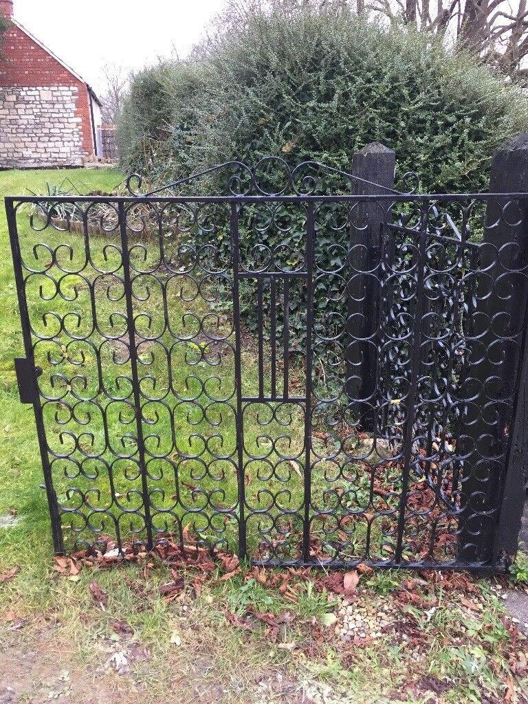 2 Large-ish iron gates.