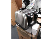stainless steel 4 slice toasters