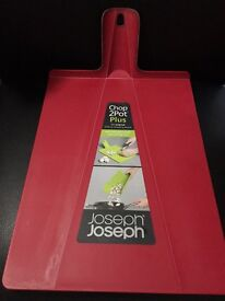 JOSEPH JOSEPH CHOP2POT LARGE FOLDING CHOPPING BOARDS SEVERAL COLOURS