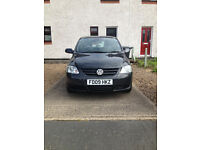 Volkswagen FOX. 2009, 1.2 Litre. 12 Months M.O.T. Repaired Cat C accident damage.