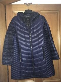 Calvin Klein coat (Xl fits uk 16)