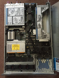 House/Office Clearance. HP ProLiant DL380 G5 rack server for sale.Twin Intel Xeon Quad Core, 8GB RAM