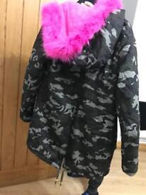 Brand new fury army coat