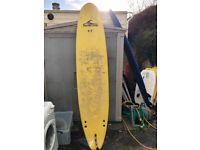 Foamy surfboard