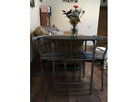Dining set and 2 chairs