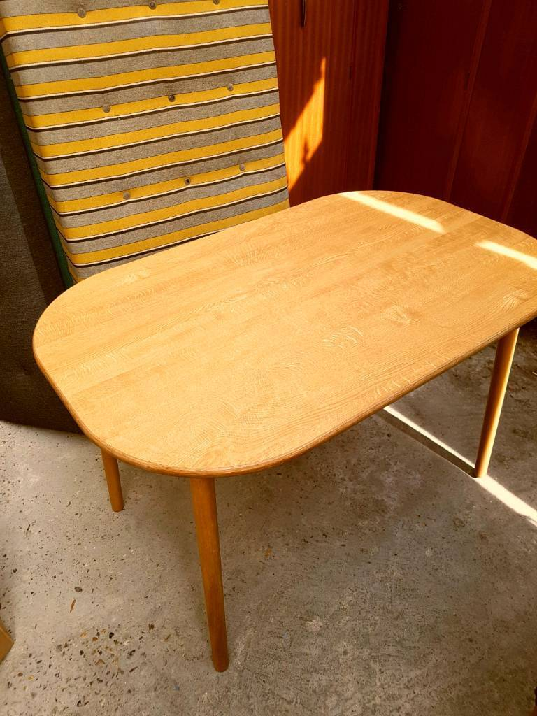 Vintage retro dining table kitchen table