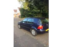 Vw golf se 1.9 tdi 90 bhp 5 door blue 2001 £625