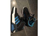 Kids adidas basketball boots size 2