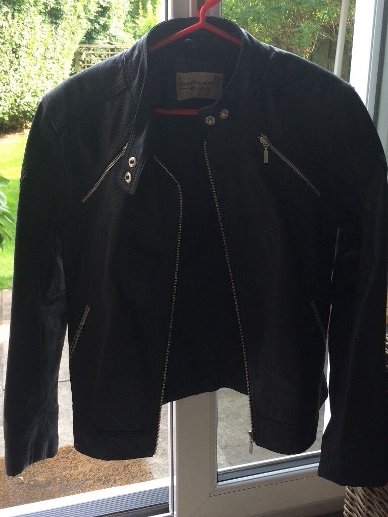 Leather jacket cost - Leather Jacket Brand New Condition Size 12 14 Cost 150 New