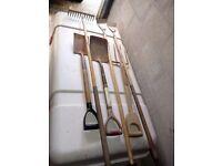 Various Gardening Tools