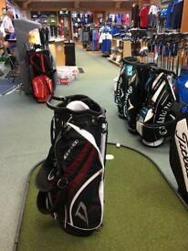 Wilson Deep Red Golf Bag