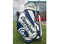 Cleveland golf leather tour bag