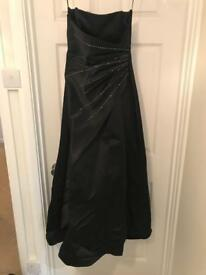 Strapless Black Ball/Prom dress