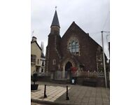 Chapel in Usk Square - office/gallery/A3/Shop. Direct from Landlord
