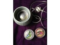 Wax Warmer Yankee Candle Scenterpiece with 2x fragrances