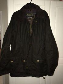 Large Barbour Jacket - rarely worn