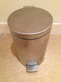 Brabantia Matte Silver 12 Litre Classic Pedal Bin JUST REDUCED