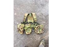 British army combat gear