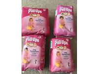 Huggies girls potty training pants for sale in Widley