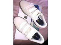 Brand new in box Puma x Careaux designer trainers. Beige in colour and UK size 6.