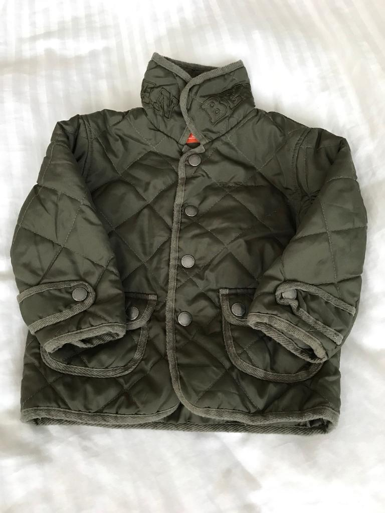 Ben Sherman quilted jacket size 9 months