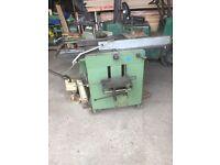 Luna universal woodworking machine. Over/under planer thicknesser , saw spindle moulder