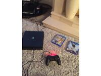 Brand new PS4 with Fifa 17 & Star Wars Battlefront
