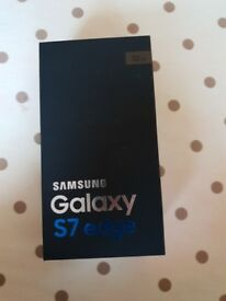 Gold Samsung Galaxy S7 Edge Phone For Sale