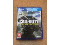 PS4 Game - Call Of Duty Infinite Warfare - Like New! - Playstation 4 - £10
