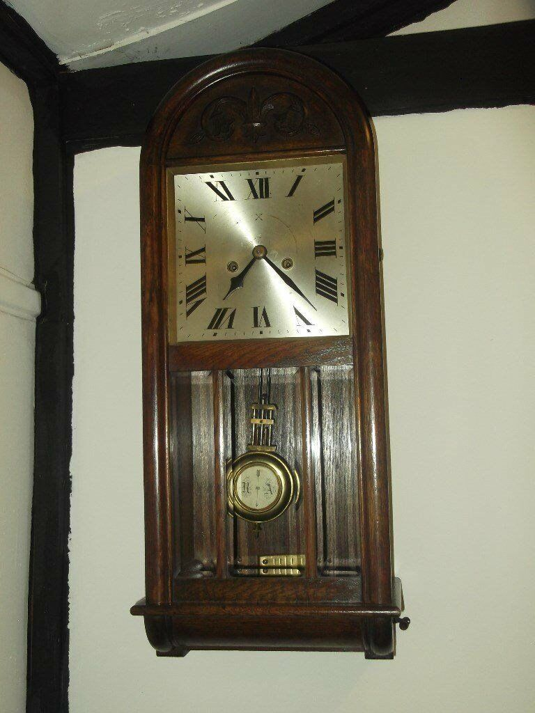 Art deco wall clock 1930 hac in chatham kent gumtree art deco wall clock 1930 hac amipublicfo Choice Image