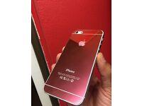 I phone 5 5s button Purple free case charger Bundle
