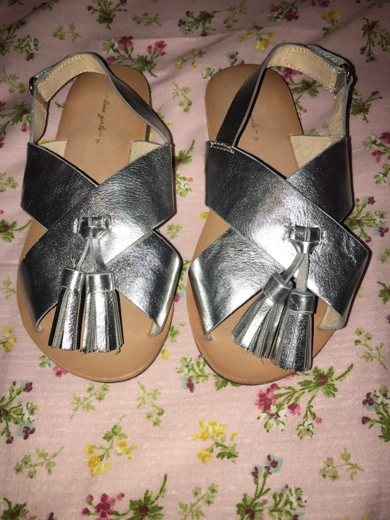 Girls Zara sandals size 9