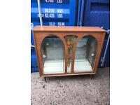 Vintage China display cabinet FREE DELIVERY PLYMOUTH AREA