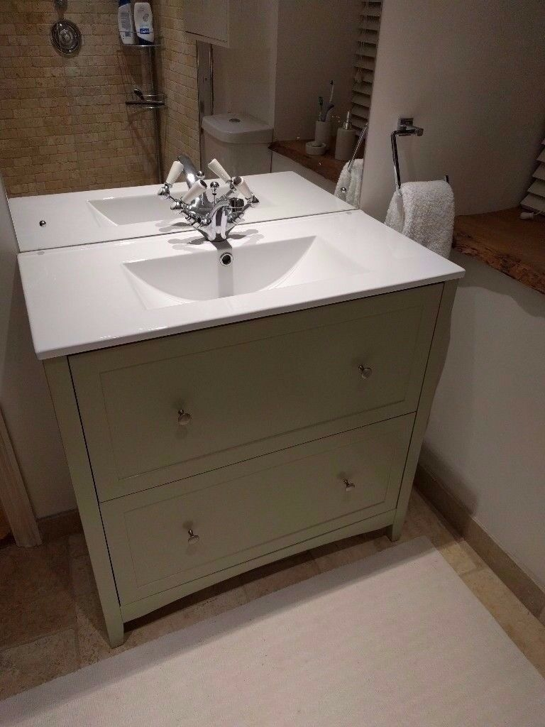 New Bathroom Vanity Lights: Brand New Bathroom Vanity Unit And Basin (The Bath Co