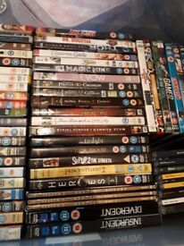 DVD Job Lot (About 70 DVDs)
