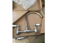 Birstan Renaissance Kitchen Bridge Tap